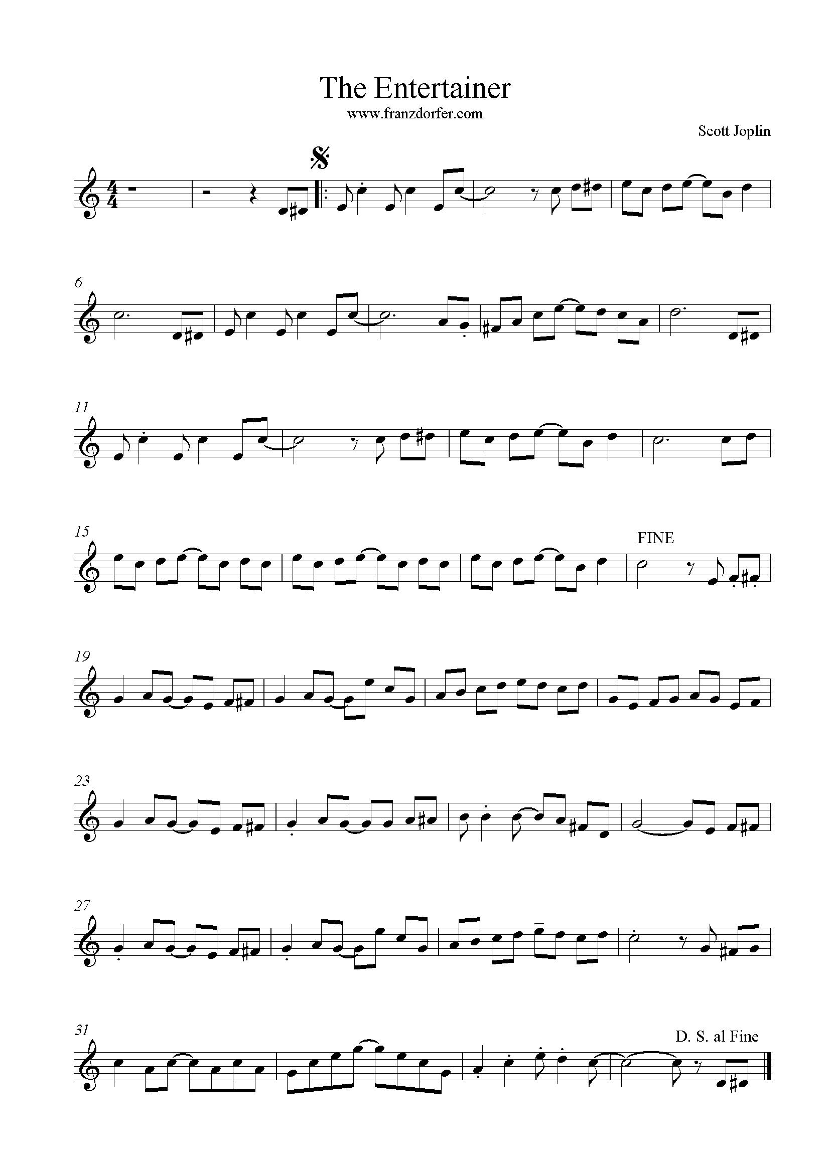 trumpet , The Enterainer