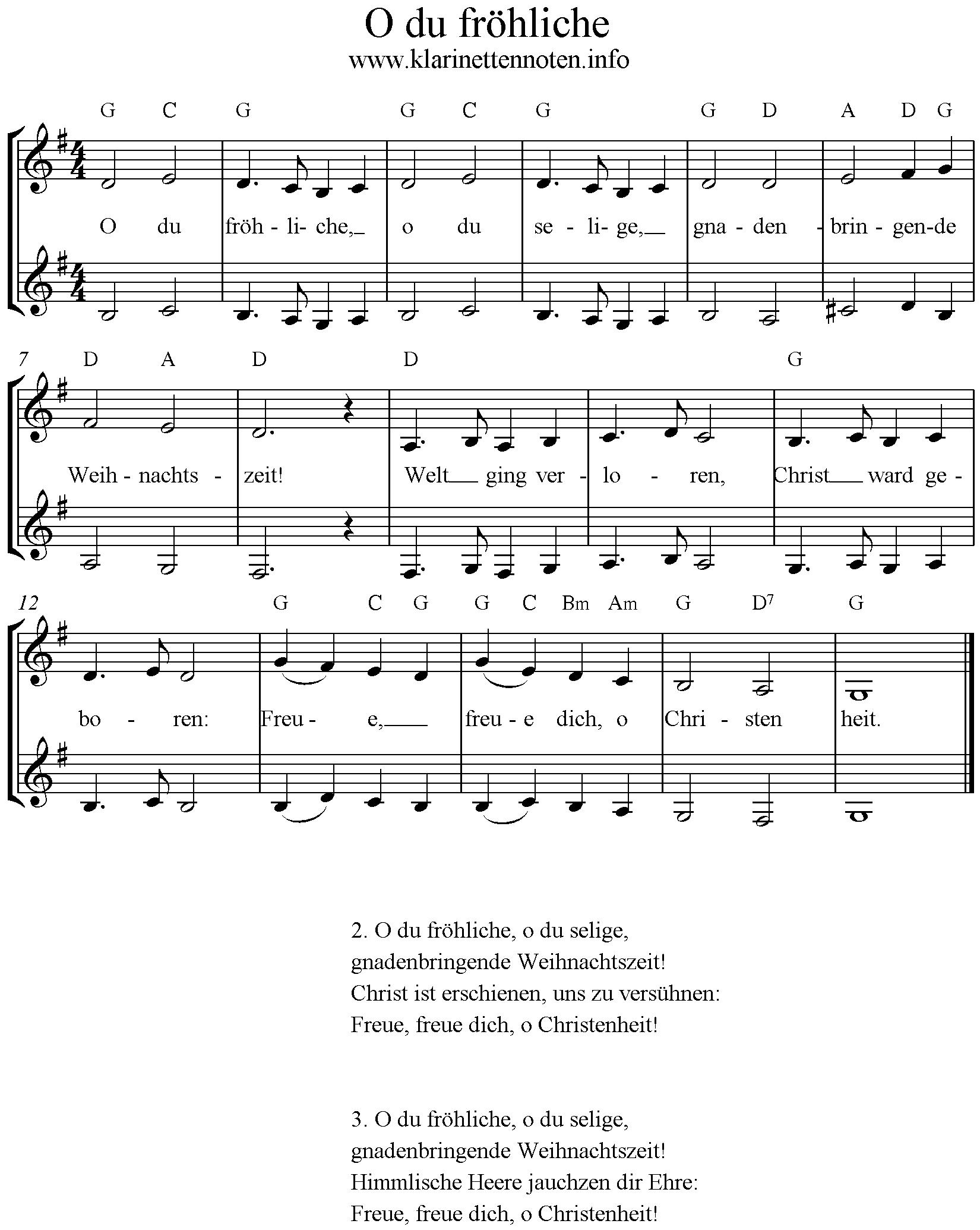 3 Stimmige Weihnachtslieder.O Du Fröhliche