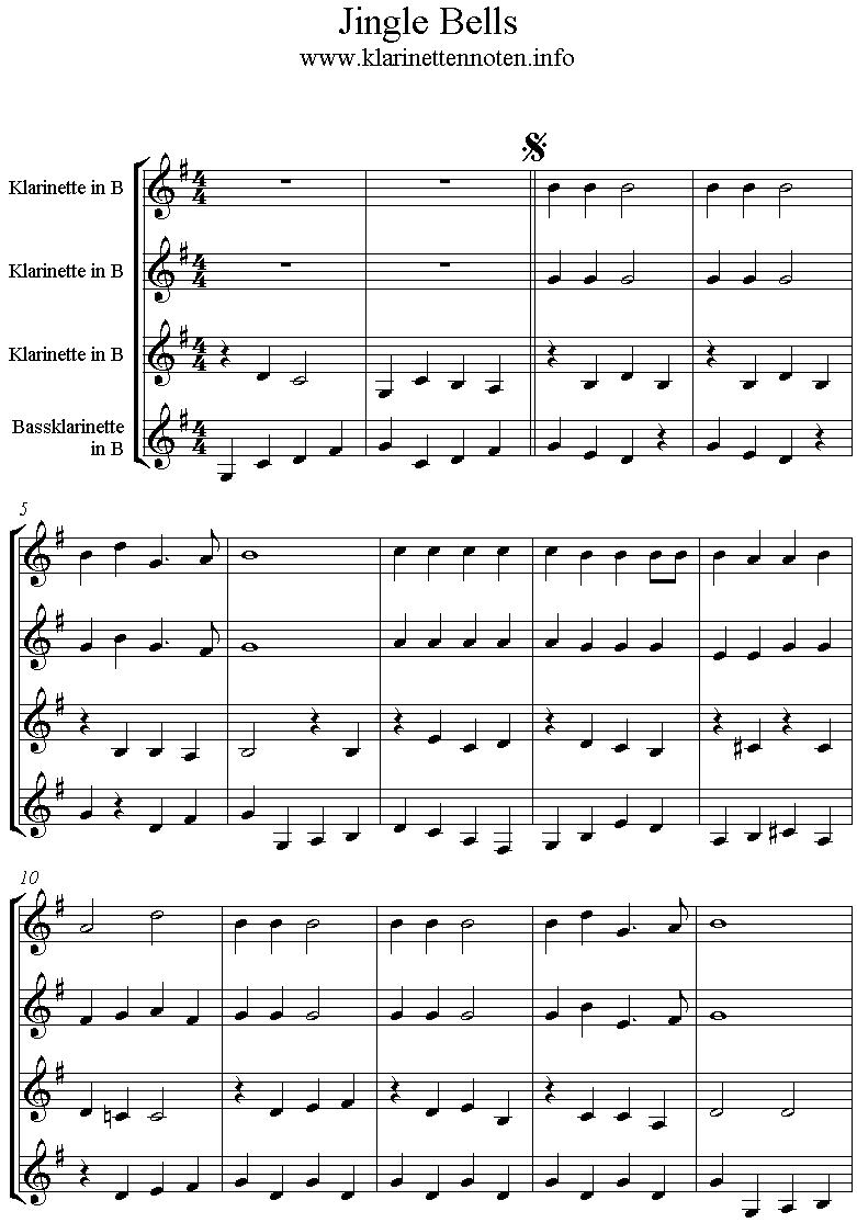 Jingle Bells -Quartet
